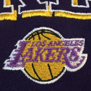 Los Angeles Lakers vintage hoodie